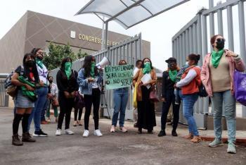 Desechan en BCS iniciativa para despenalizar aborto