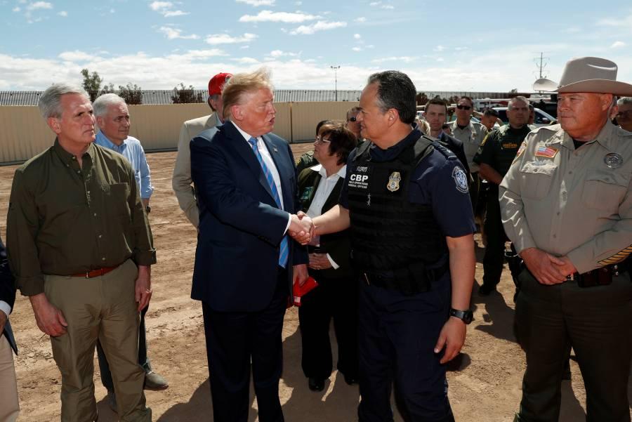 Expresidente Trump alaba políticas migratorias durante su gobierno
