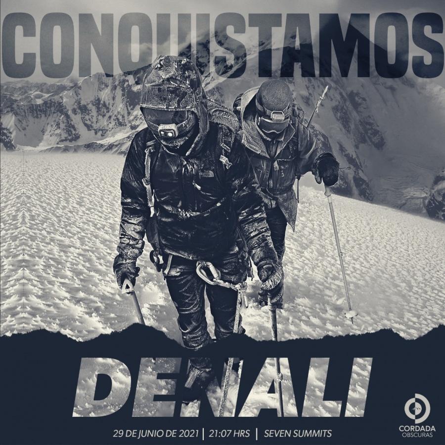 Mexicano invidente conquista la cima del Denali