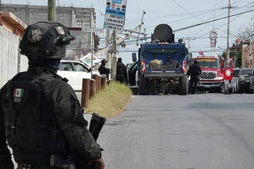 Reportan al menos nueve cuerpos en carretera de Miguel Alemán, Tamaulipas