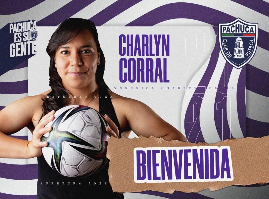 Oficial: Charlyn Corral llega al Pachuca