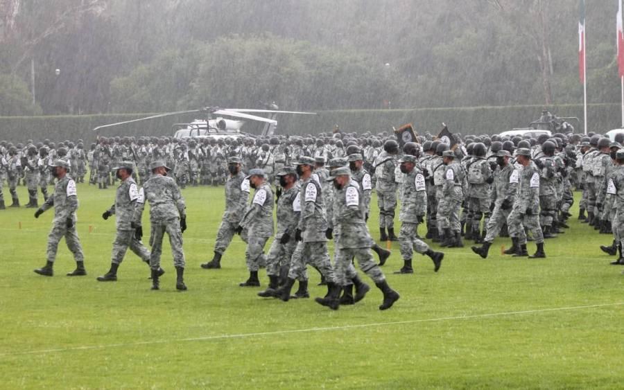 Se suspendió la celebración del segundo aniversario de la Guardia Nacional