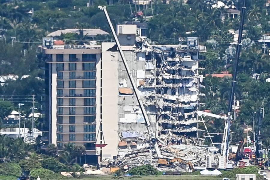 Asciende a 16 el número de muertos por derrumbe en edificio de Miami