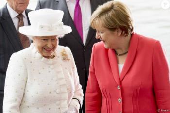 Recibirá la reina Isabel II  a Angela Merkel en Windsor