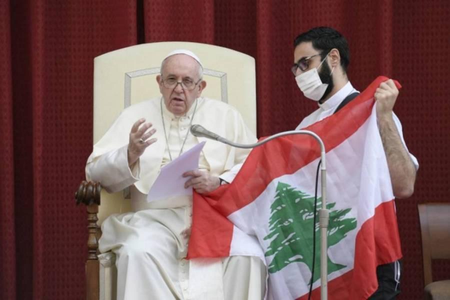 Papa Francisco mandó un mensaje de paz y esperanza para Líbano