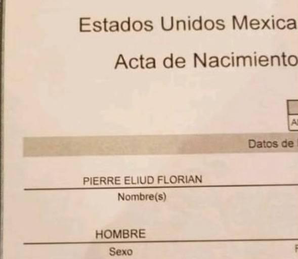 """En honor a jugadores de Tigres, bautizan a menor como """"Pierre Eliud Florian"""""""