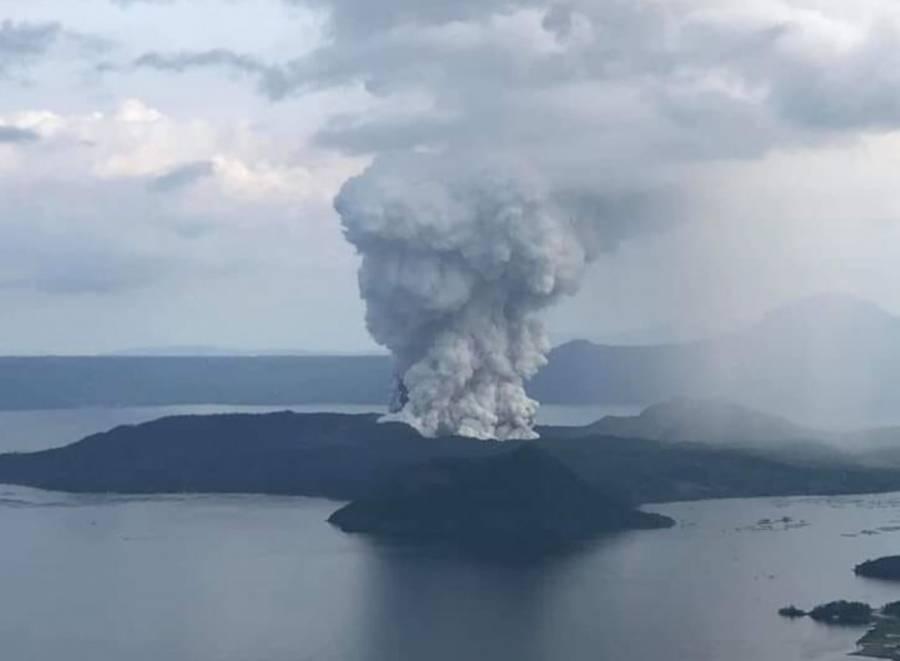 Filipinas se encuentra en alerta tras erupción del volcán Taal