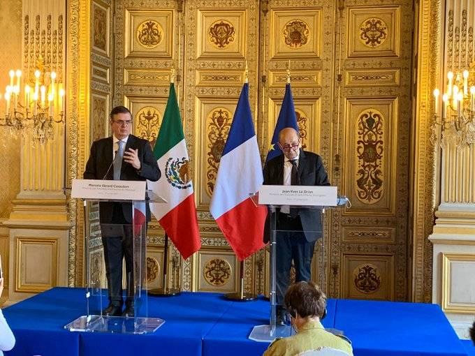 Acuerdan México y Francia combatir tráfico de bienes culturales