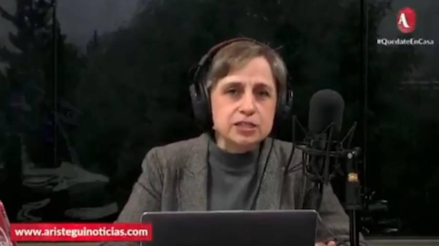 """Critica Carmen Aristegui al """"Quién es quién"""" de AMLO"""