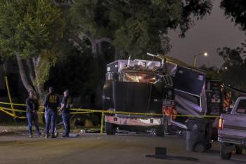 Suman 17 heridos tras explosión en Los Ángeles