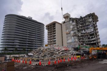 En Miami detienen las tareas de rescate por peligro de colapso