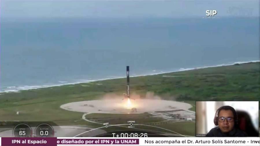 IPN y UNAM realizan con éxito lanzamiento del nanosatélite en Cabo Cañaveral