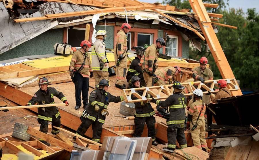 Se registra un nuevo derrumbe de un edificio en EEUU