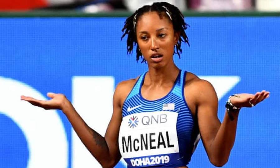 Sigue suspendida Brianna McNeal y no defenderá su título olímpico