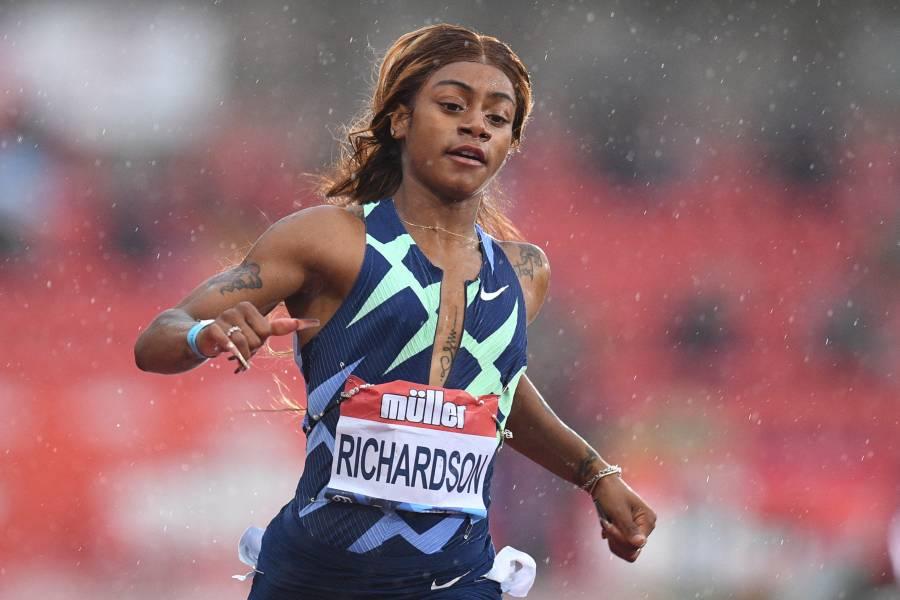 La atleta estadounidense Richardson confirma que dio positivo por marihuana