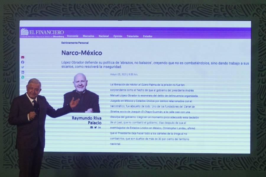 No le gusta que se le describa como un autócrata: Riva Palacio responde a AMLO