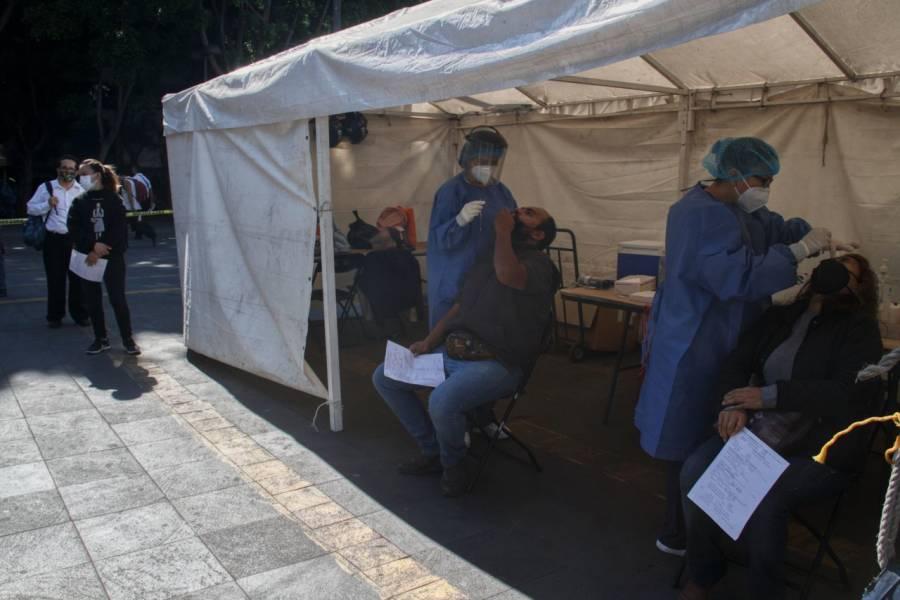 GobCDMX retira de plazas quioscos de pruebas Covid