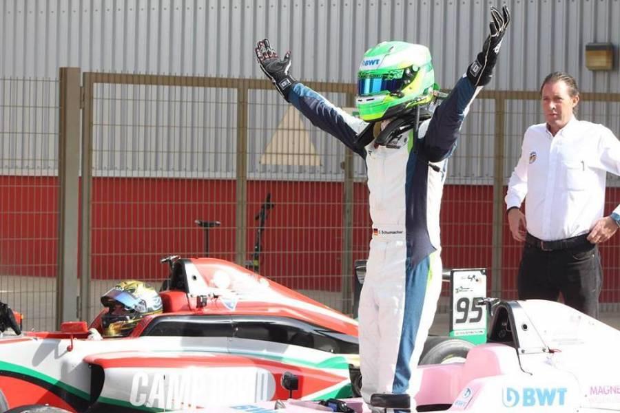 David Schumacher gana su primera carrera de Fórmula 3