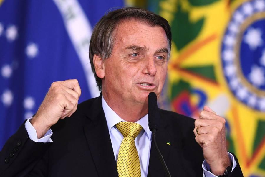 Jair Bolsonaro critica protestas contra el gobierno: