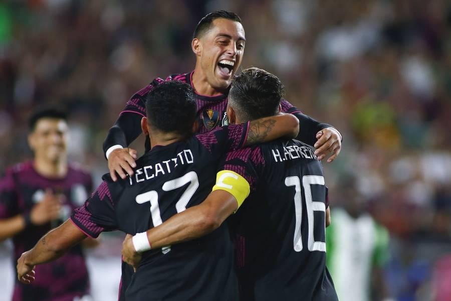 México golea a Nigeria en el debut de Rogelio Funes Mori