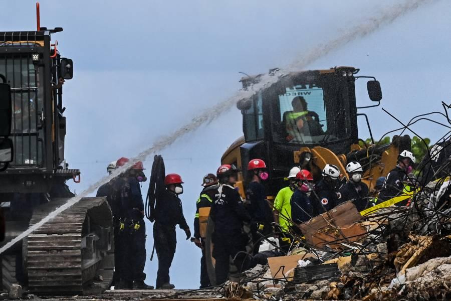 La difícil noche del bombero que sacó el cadáver de su hija de edificio de Miami