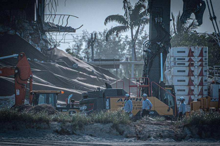 Suman 27 muertos por colapso de edificio en Florida; posibilidad de sobrevivientes es