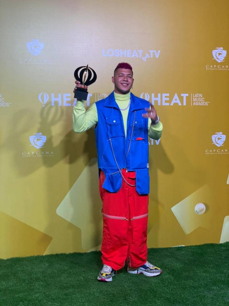 Panameño Boza es Artista Revelación en los Premios Heat 2021