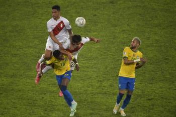 Copa América: Sin brillar, Brasil obtiene boleta a la final al derrotar a Perú