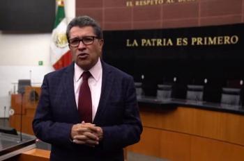 Pugna Monreal por agenda multilateral sobre tráfico de armas