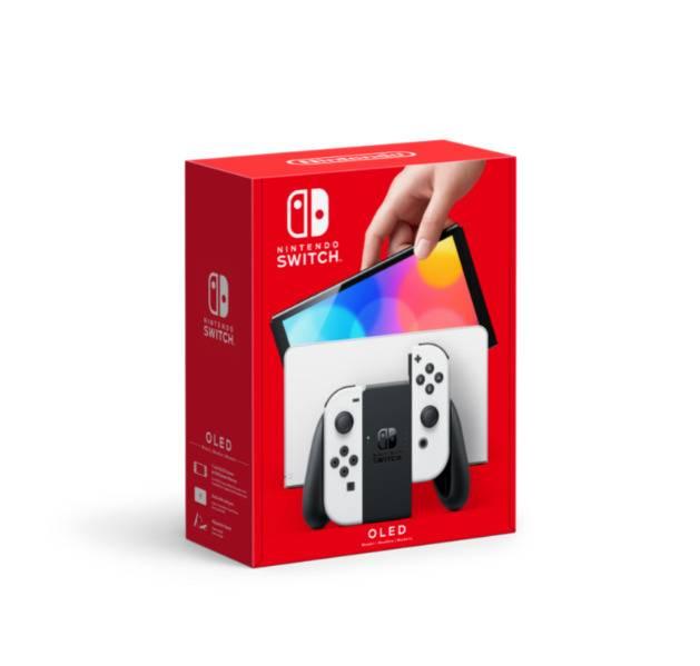 Nueva Switch de Nintendo, incluye una pantalla más grande