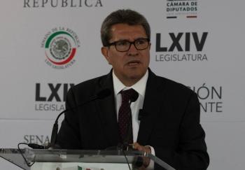 Pide Monreal a Morena, piso parejo para la sucesión presidencial