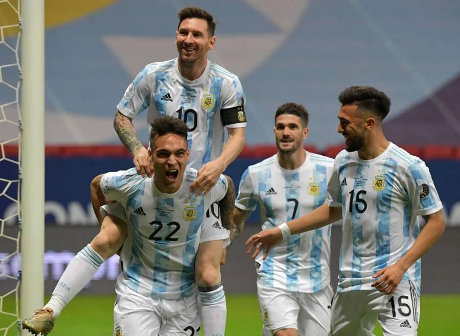 Argentina vence a Colombia y jugará la final de la Copa América con Brasil