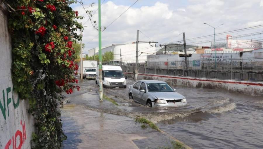 Fuertes lluvias en Edomex dejan 450 viviendas afectadas
