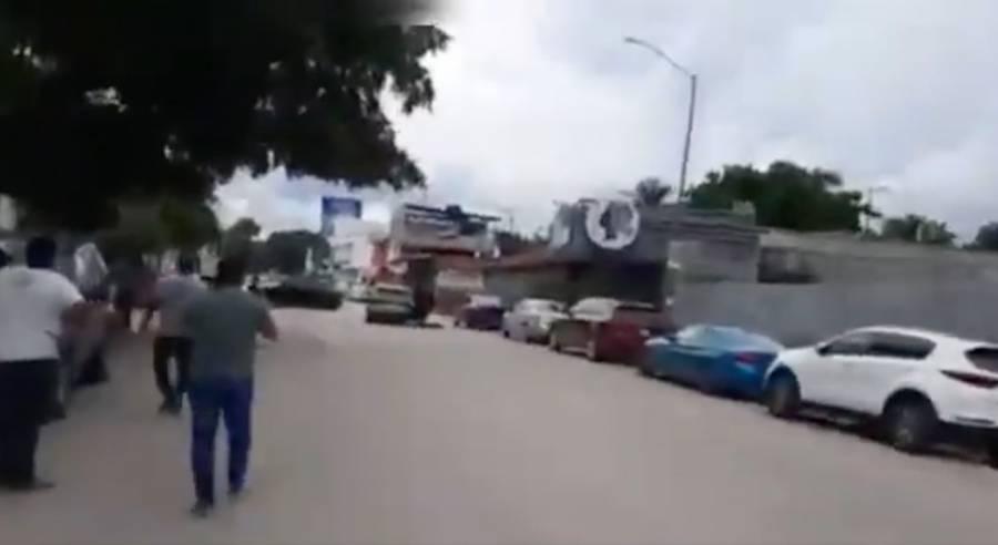 Balacera en Chiapas deja tres personas muertas