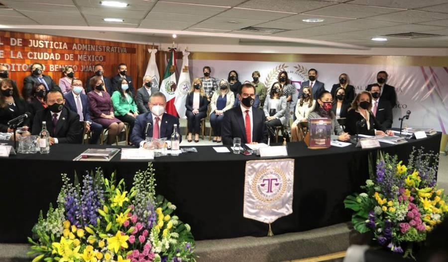 Tribunal de Justicia Administrativa, una institución de vanguardia: Yasmín Esquivel Mossa