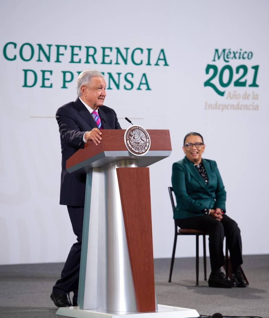 50% de población en frontera norte vacunada, informa Rosa Icela Rodríguez