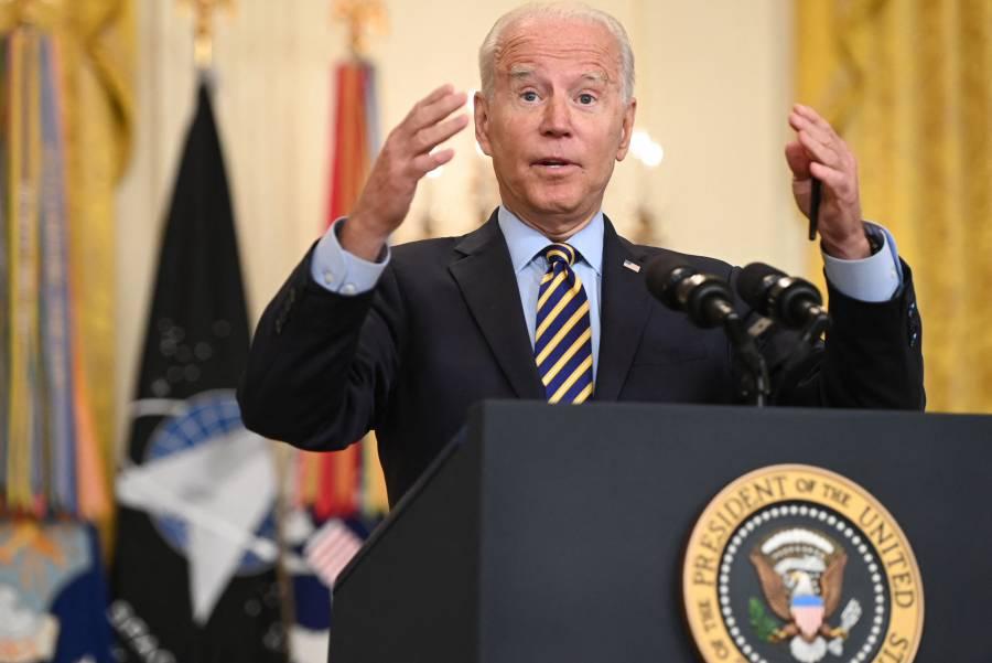 Defiende Biden retirada de EEUU de Afganistán