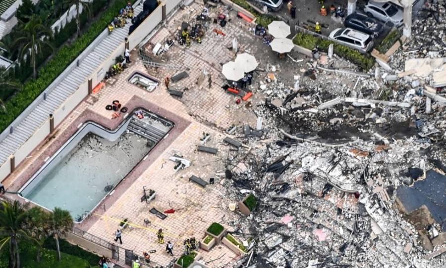 Ponen fin a la búsqueda de supervivientes; sube a 60 número de muertos tras derrumbe de edificio en Miami