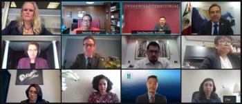 Alistan México y EEUU agenda bilateral en desarrollo urbano y vivienda