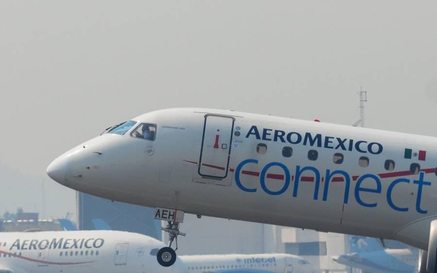 Para no quebrar, Aeroméxico invertía a nivel nacional e internacional