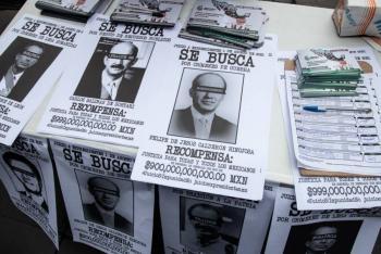 Para enjuiciar a expresidentes, electricistas piden votar en Consulta Popular