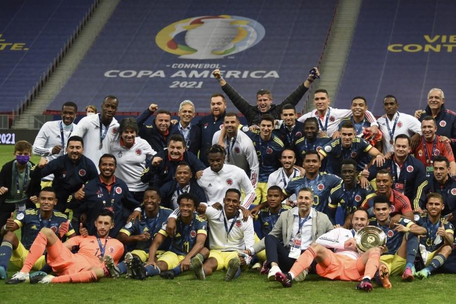 Colombia se queda con el tercer lugar de la Copa América-2021