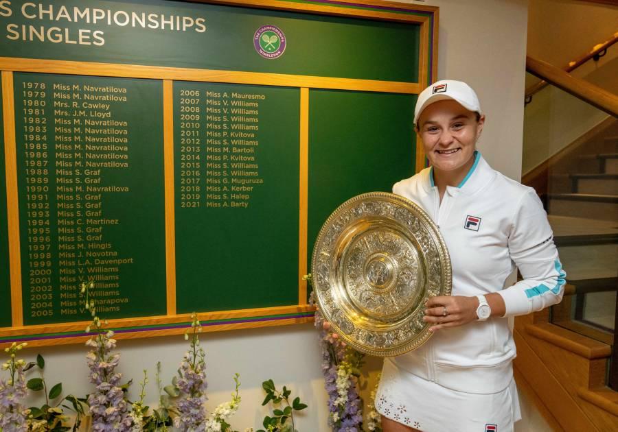 Ashleigh Barty conquista Wimbledon