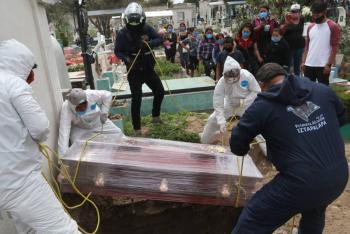 En México se registran 234,907 muertes por COVID-19
