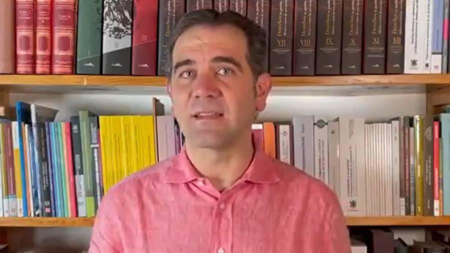 INE no boicotea consulta sobre expresidentes: Lorenzo Córdova