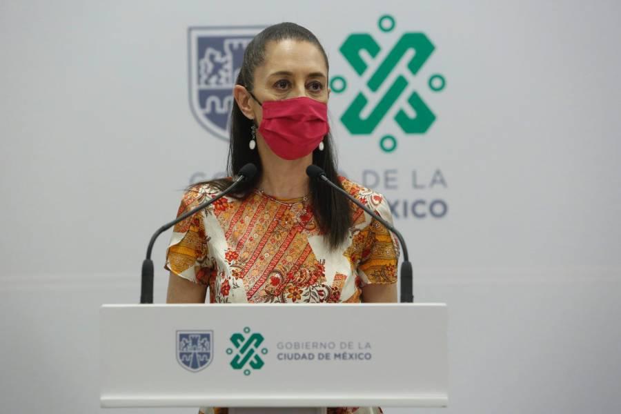 Sheinbaum pide al INE mayor difusión a consulta contra expresidentes