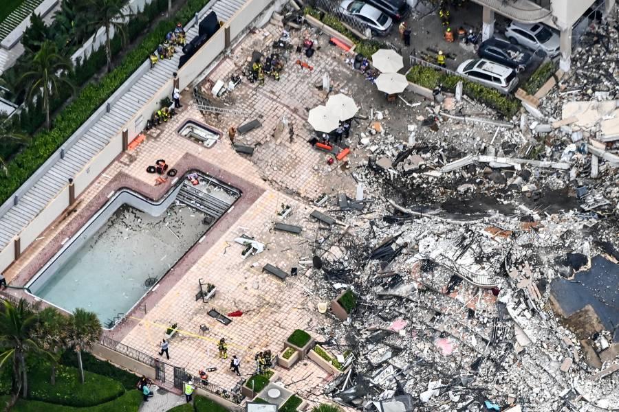 Sube a 94 la cifra de muertos por derrumbe de edificio en Florida