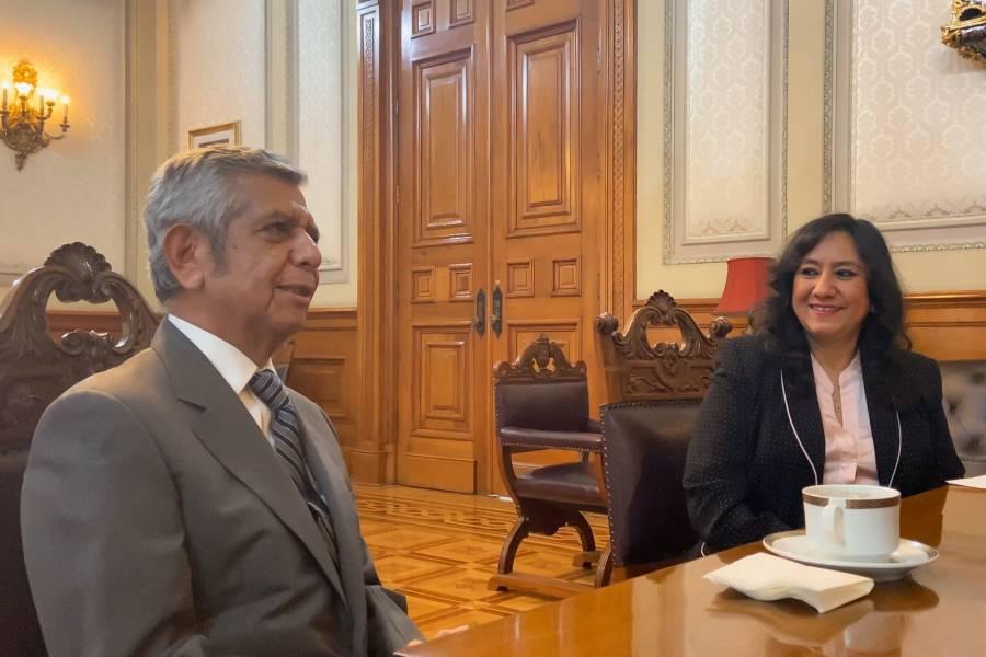 Recibe la Permanente nombramiento de Roberto Salcedo designado para la SFP