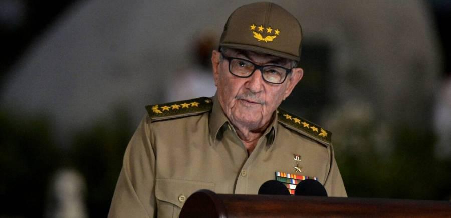 Participa Raúl Castro en reunión del PC para abordar asunto de las protestas