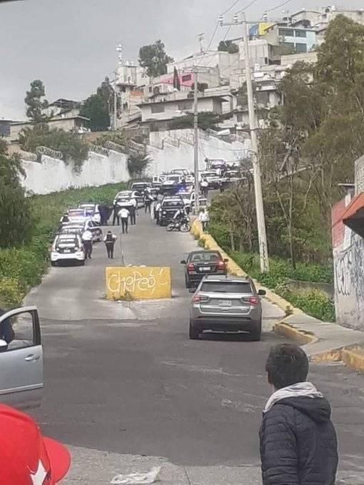 En Tlalnepantla, policías municipales atacan a ministeriales